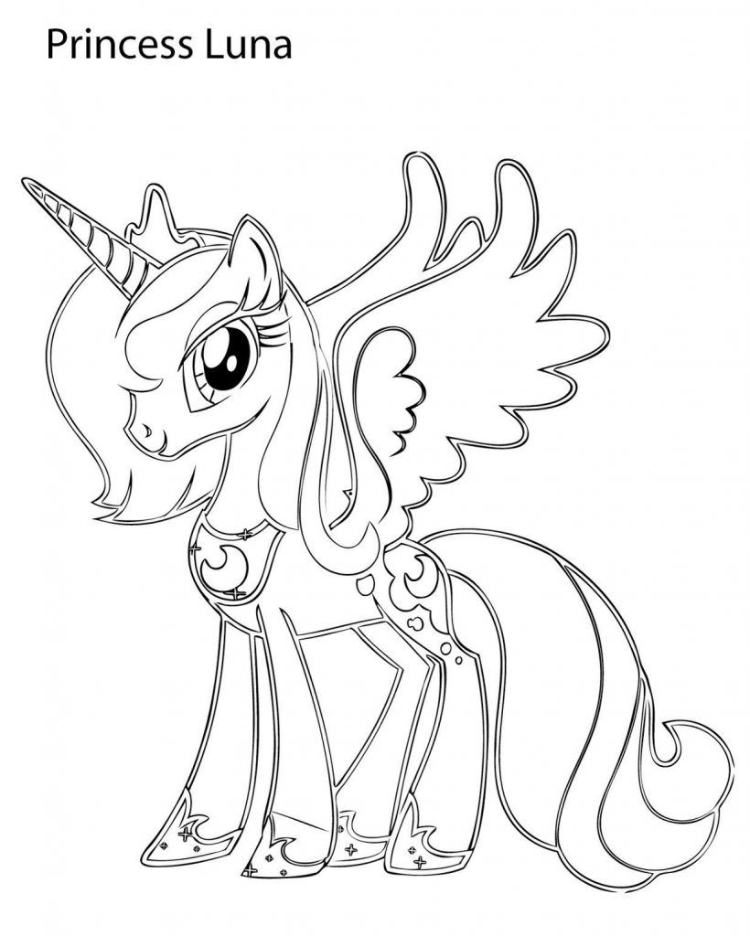Princess Luna Coloring Pages Best Coloring Pages For Kids My Little Pony Coloring Unicorn Coloring Pages My Little Pony Printable