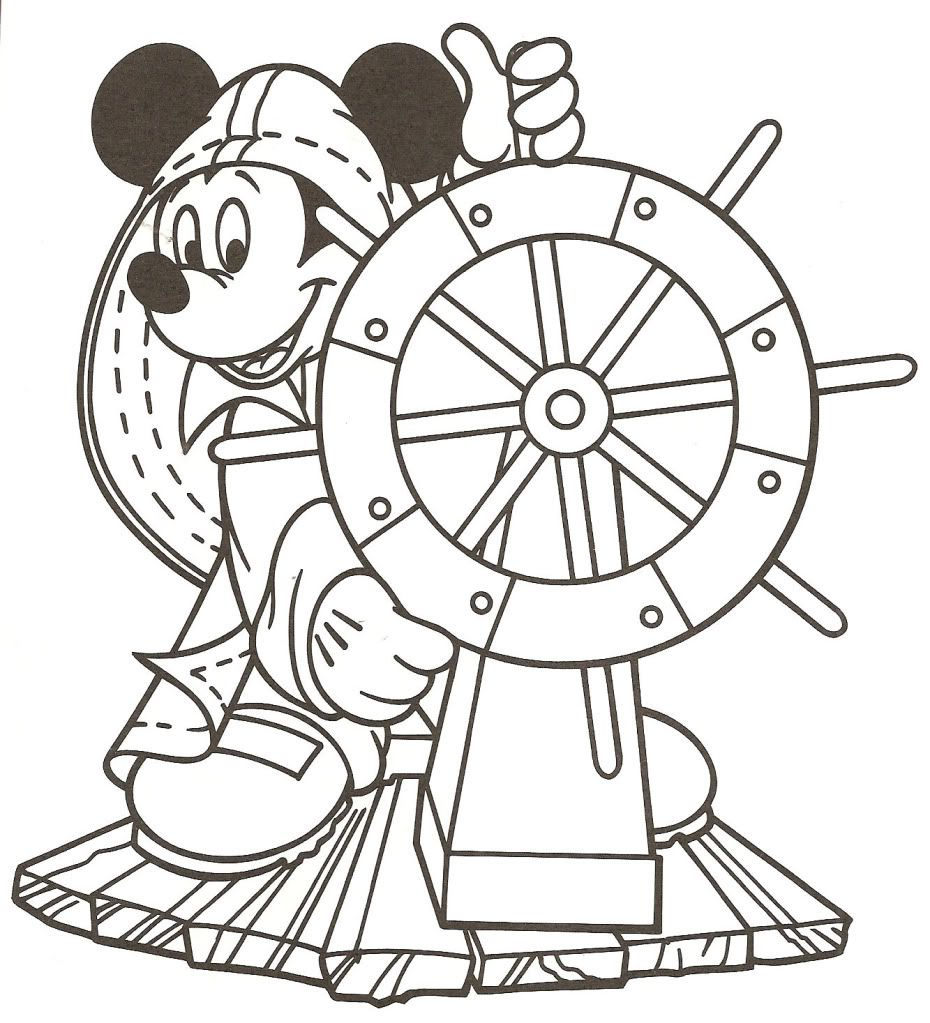 Cruise Coloring Pages To Print