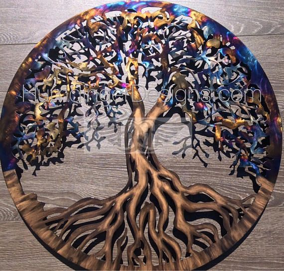 Large Tree Of Life Wall Art | Shapeyourminds.com
