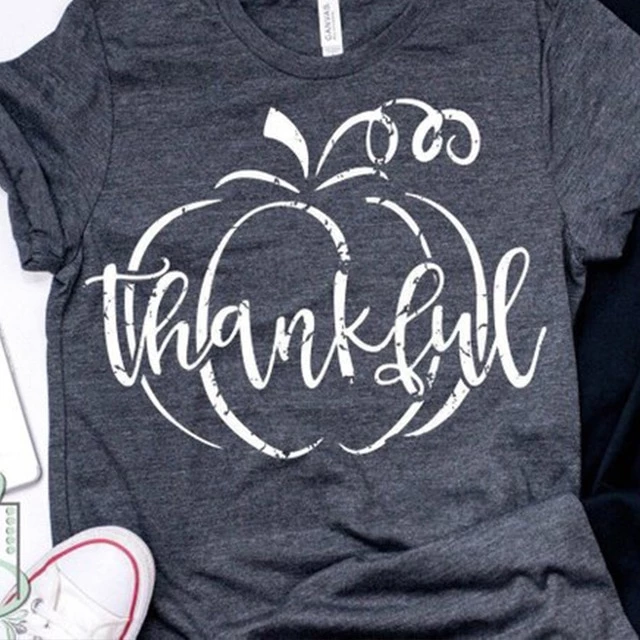 2019 thankful grateful blessed tshirt vintage top womens plus size tops fashion tee gothic shirt graphic tees women punk 1