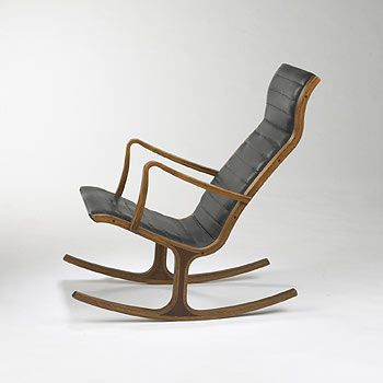 tendo mokko japan mid century modern rocking chair pinterest