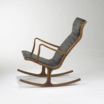 Tendo Mokko Japan Mid Century Modern Rocking Chair Modern