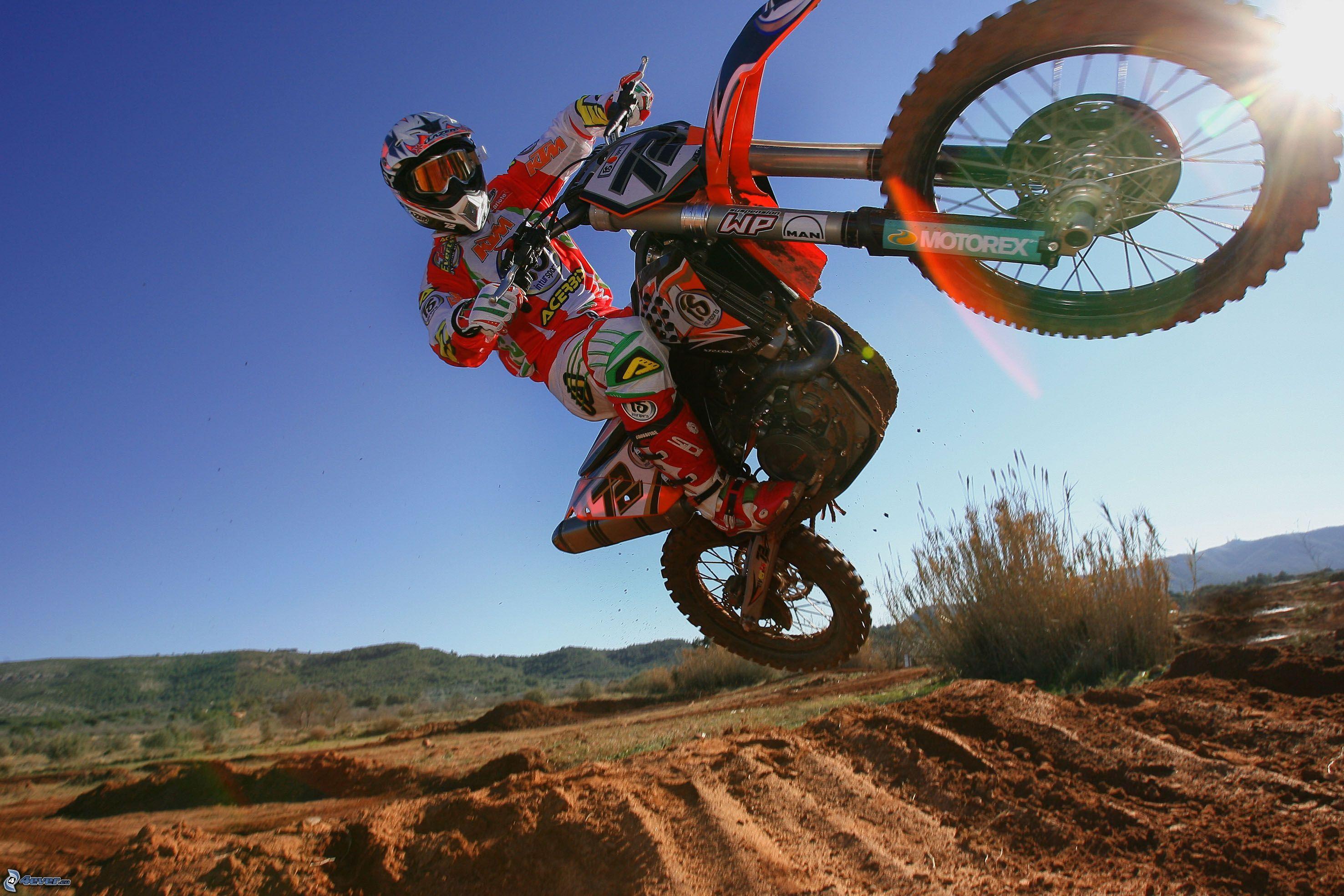 Motocross Racing Rider Freestyle motocross, Motocross