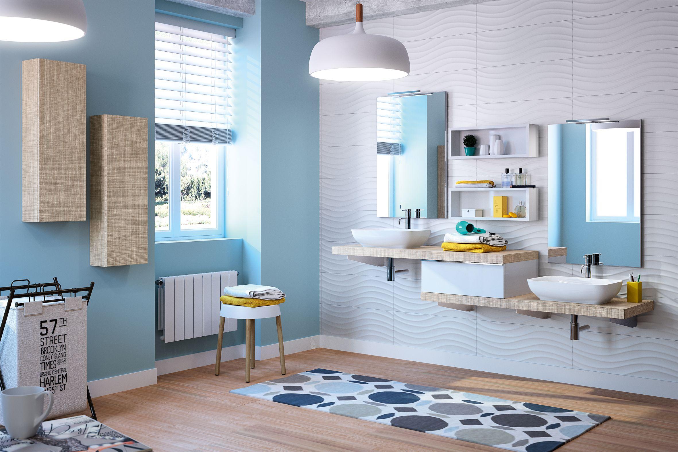 Meubles de salle de bain Cedam - gamme Extenso sur-mesure ...