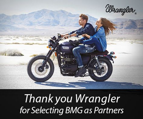 Thank you Wrangler for Selecting BMG as Partners!
