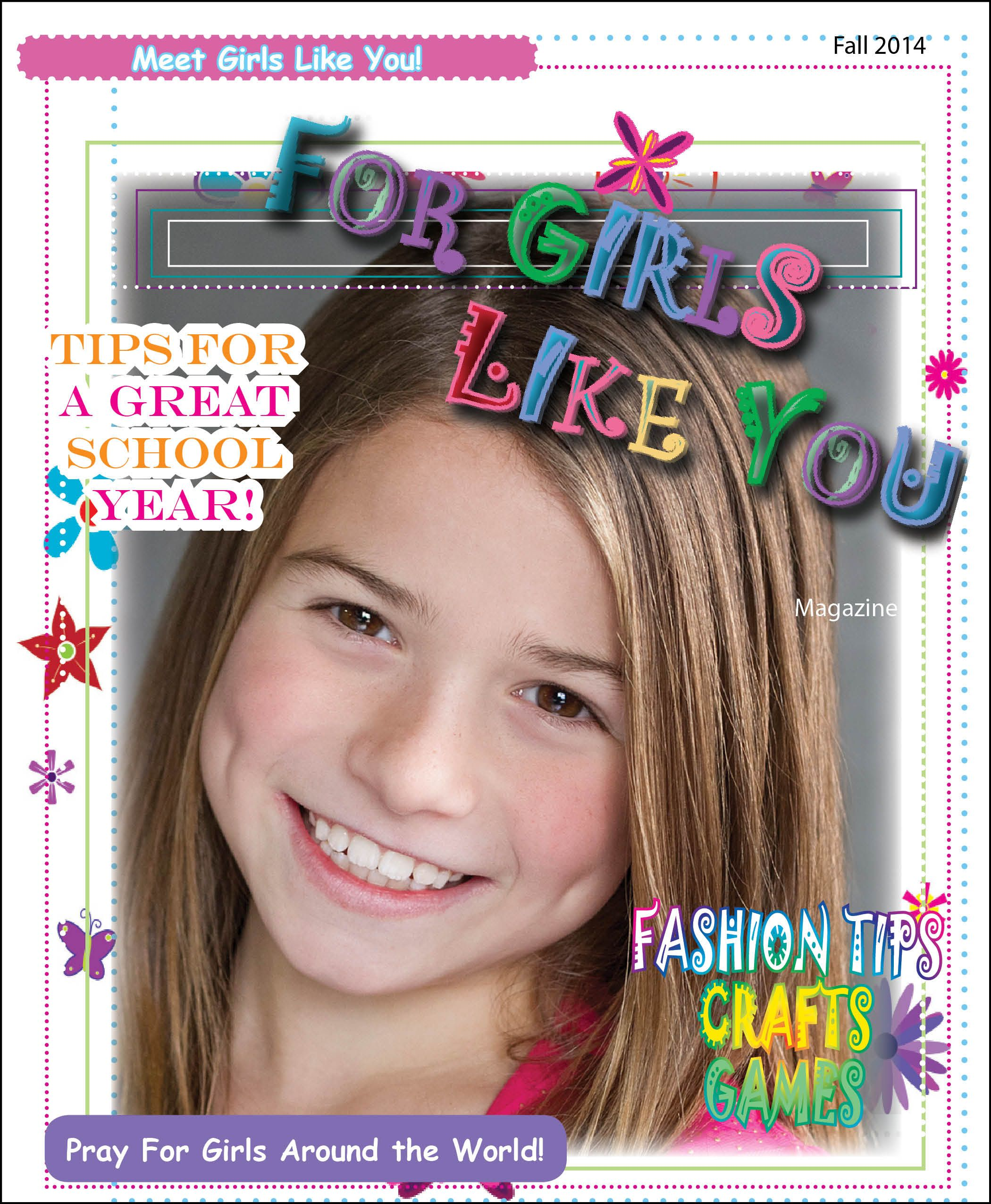 This Is An Online Printable Magazine Blog For Younger Girls That Teach Children About