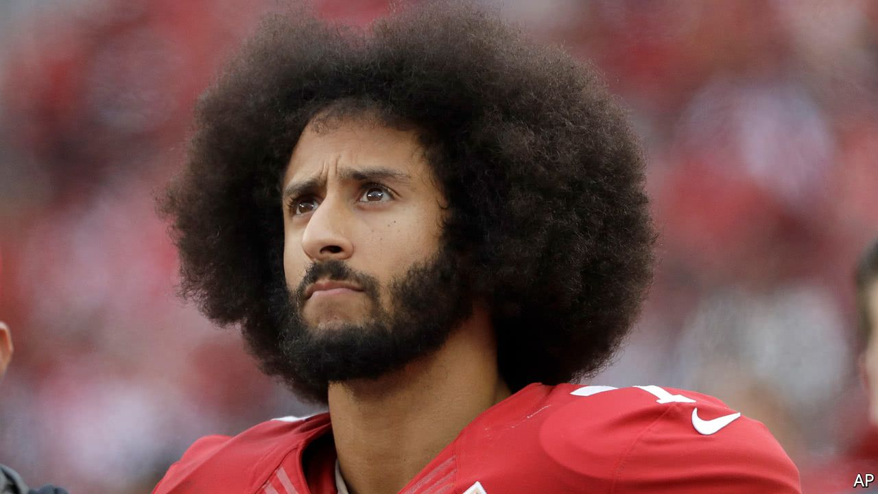 Colin kaepernick files a claim against nfl owners for