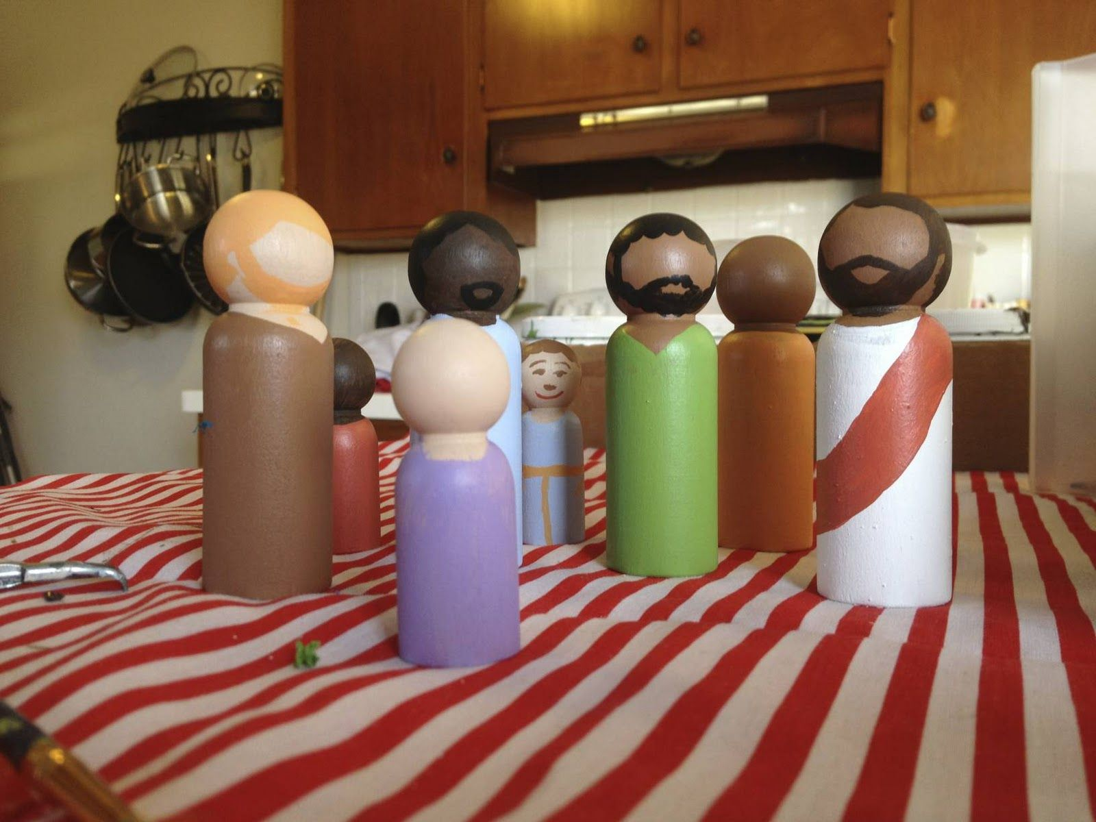 wooden peg Bible Toys really just need