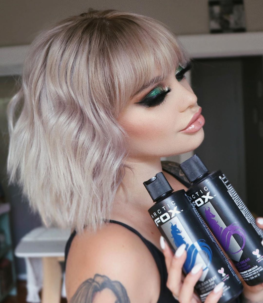 Arctic fox hair color taylorsteingold make your own toner