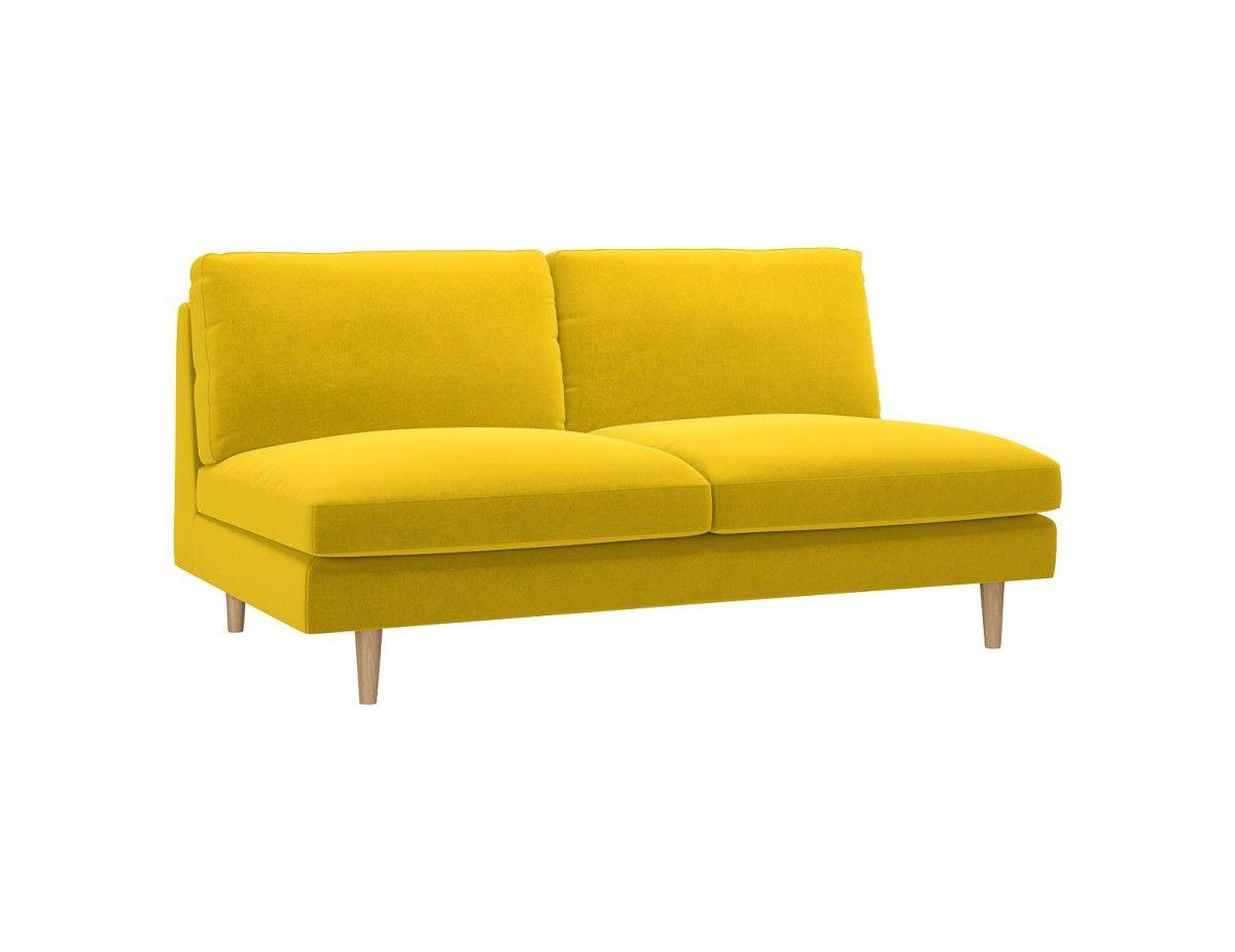 Teo Yellow Velvet 2 Seat Sofa With Images Sofa Buy Sofa Sofa Buying Guide