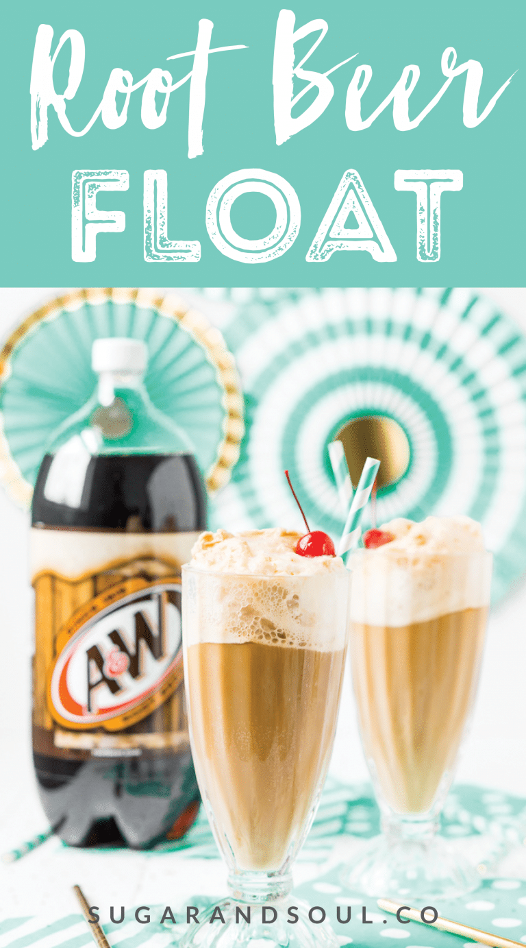 Everyone loves a good A&W® Root Beer Float - a classic and fun drink recipe made with bubbly root beer, creamy vanilla ice cream, and a few other ingredients that takes it over the top! Here's how to make the absolute BEST one! sponsored #FridayNightFloats #rootbeer #drink #recipe #icecream @target #rootbeerfloat