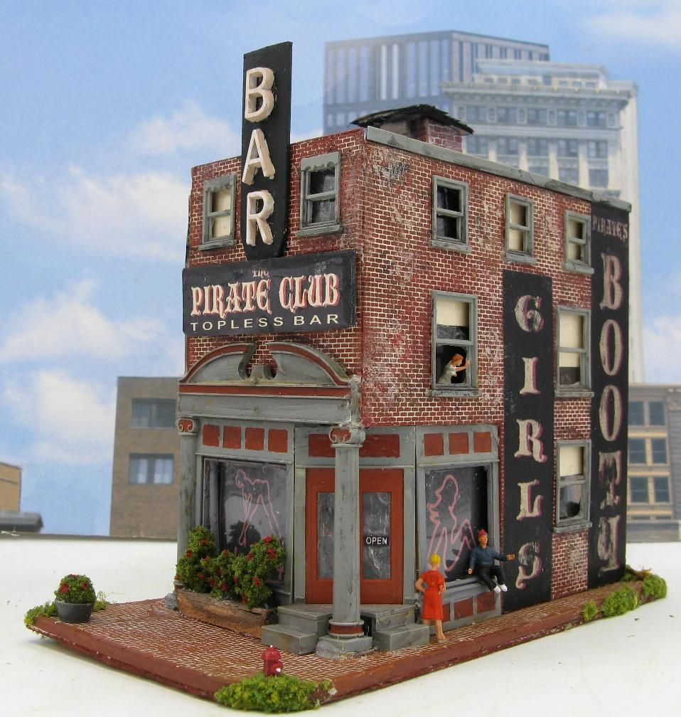 Sold Structures | HO Scale Model Train Buildings | Model ...
