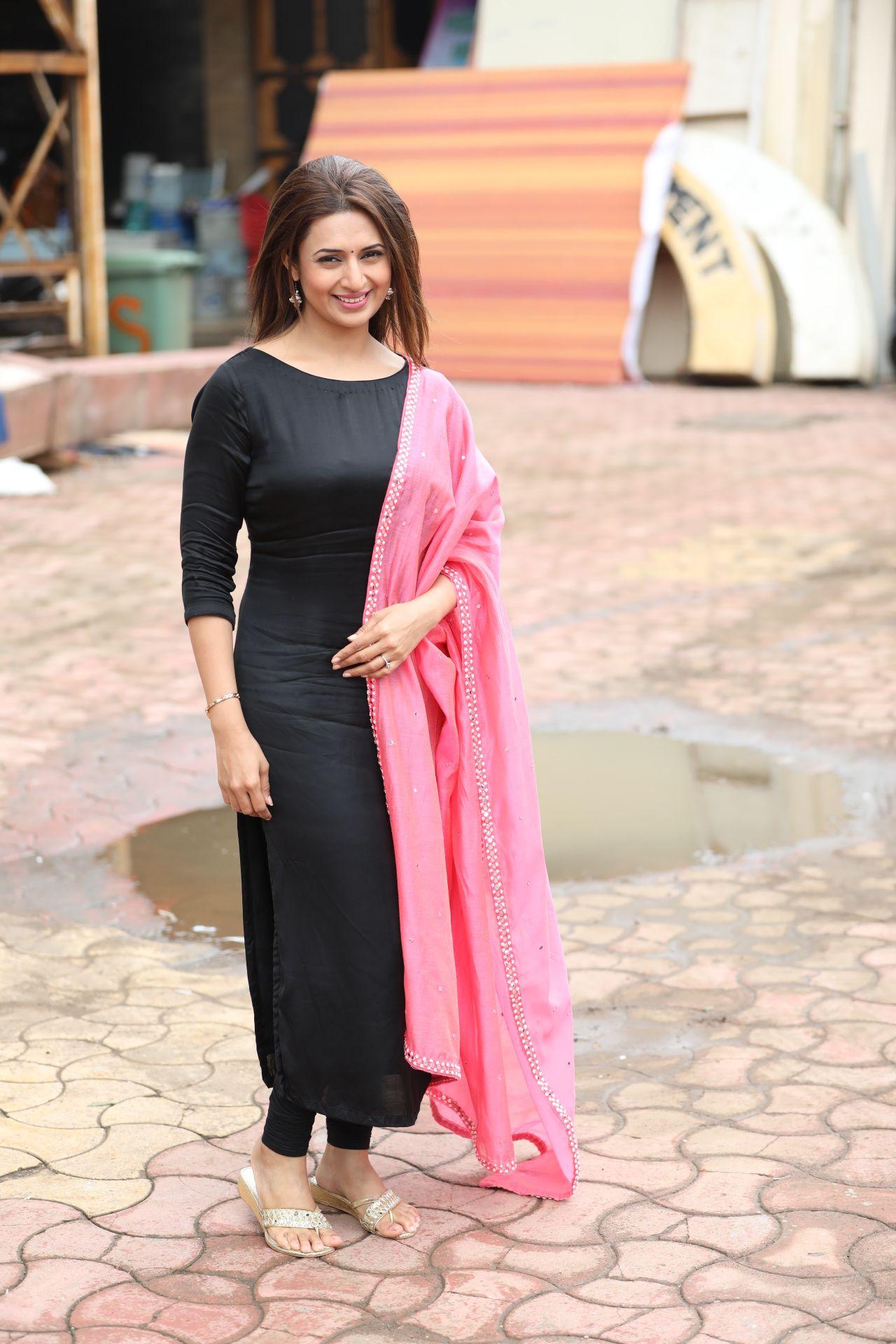 e98b488323 Beautiful Gorgeous DivyankaTripathi Mam Punjabi Salwar Suits, Black Patiala  Suit, Black Punjabi Suit,