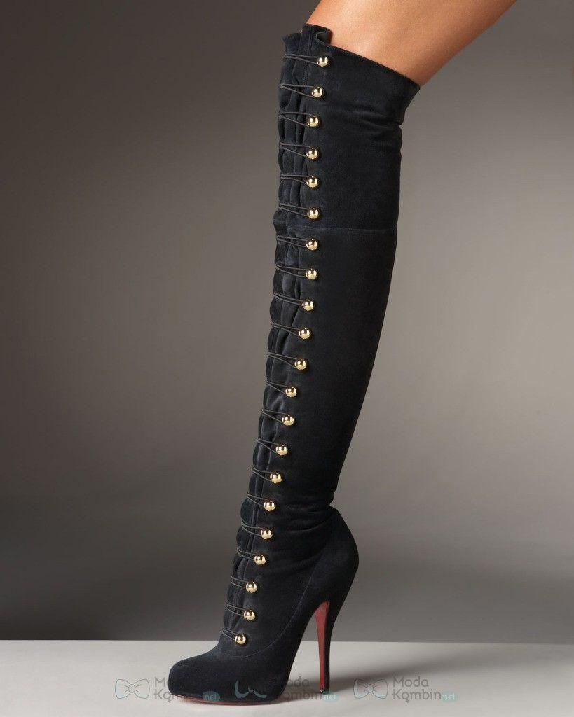 28a68f8a811 Topuklu Çizme Modelleri - // #topukluçizmemodası ...