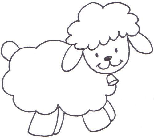 Píntame un cordero! | baby shower | Pinterest | Sheep, Quilts y ...
