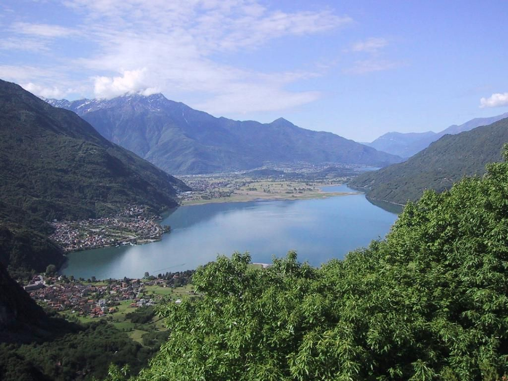 Chiavenna Italy - The mountains are beautiful!