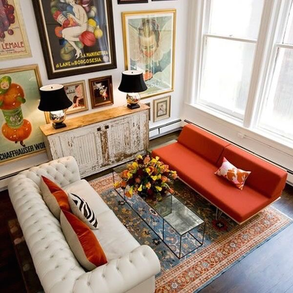 Eclectic Home Design Style Characteristics Furniture Placement Living Room Eclectic Living Room Interior Design Living Room