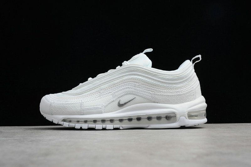 Factory Authentic Men Nike Air Max 97 CR7 All White AQ0655