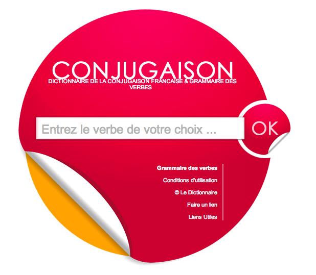 Dictionnaire De La Conjugaison Francaise Et Grammaire Des Verbes Conjugaison Francais Grammaire Conjugaison