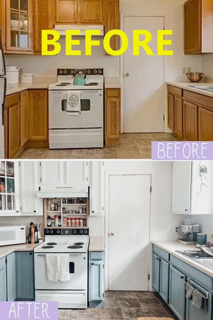 How To Paint Your Kitchen Cabinets In 2020 Kitchen Diy Makeover Diy Kitchen Kitchen Makeover
