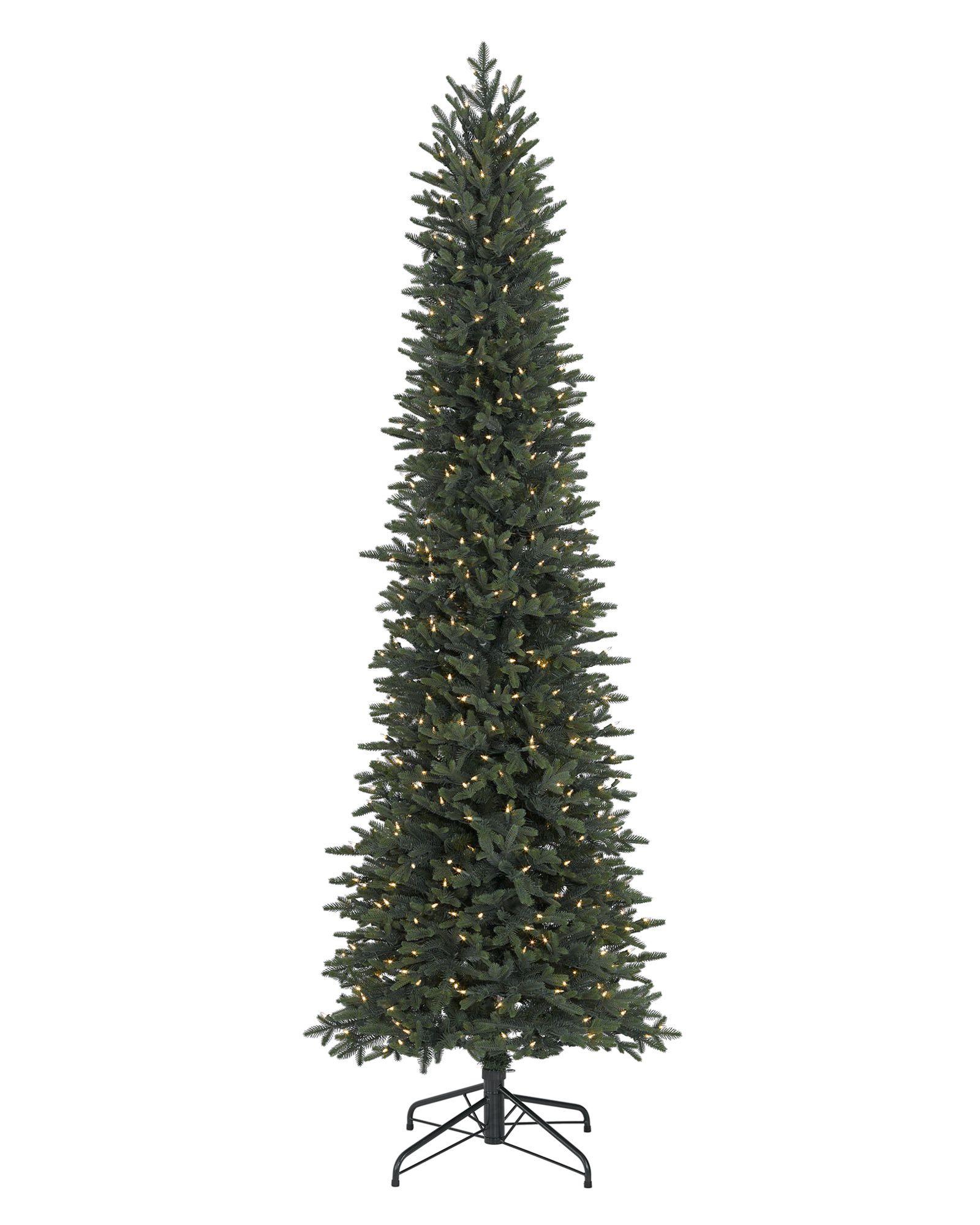 6171f95e17f 12 foot prince flock pencil artificial christmas tree unlit. homcom ...