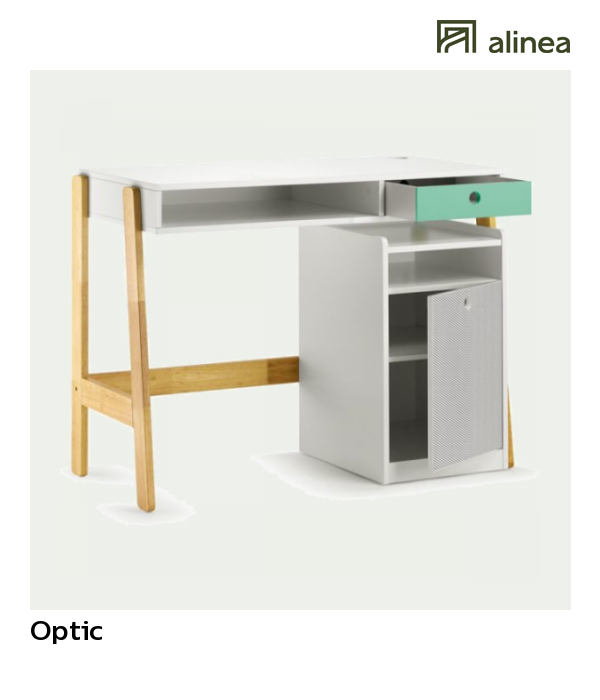 alinea optic bureau enfant avec