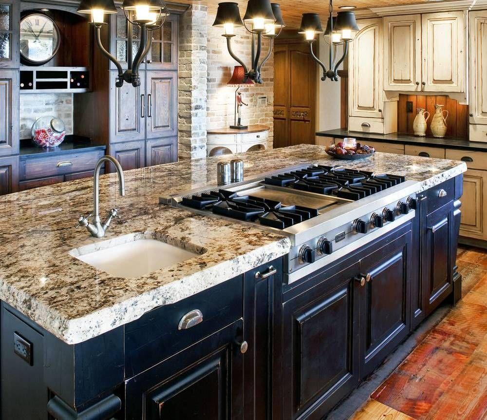Center Island Designs For Kitchens Mesmerizing 30 Attractive Kitchen Island Designs For Remodeling Your Kitchen Design Ideas
