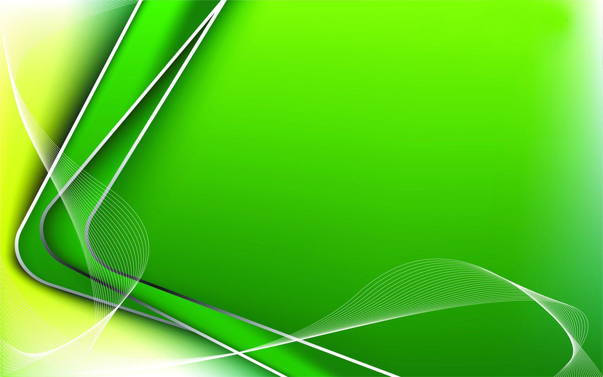 Green Corners Wallpaper