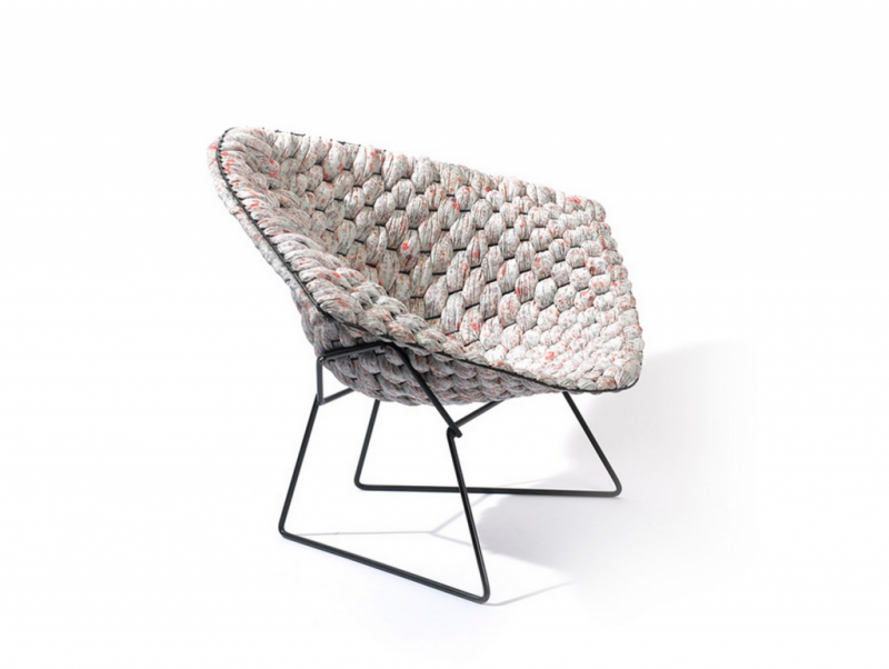 Bertoia Loom Chair par Clement Brazille