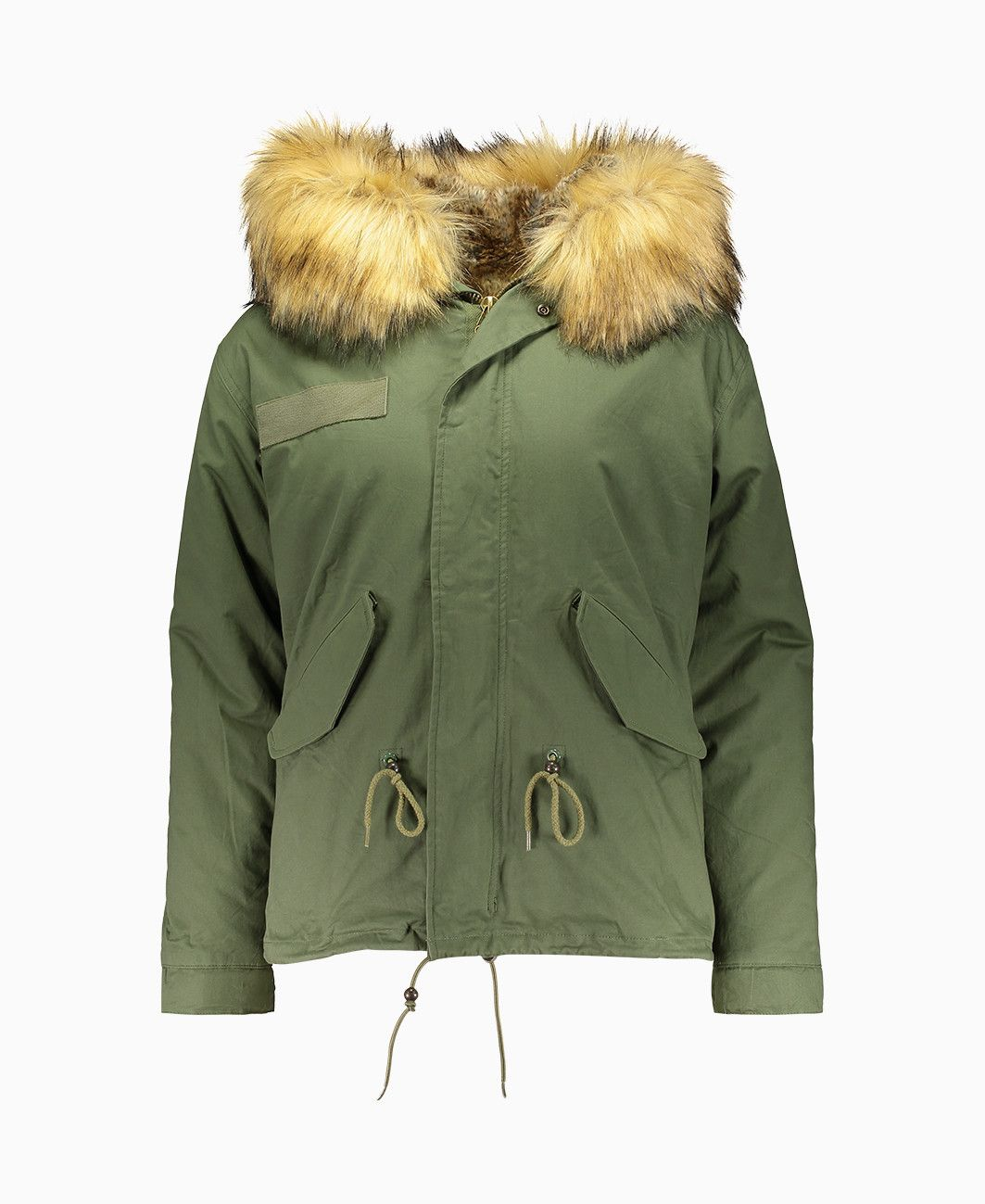 9df4fedeb4d Bobbi Parka - Faux Fur Parka - Green - Coats & Jackets - Womens ...