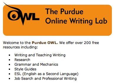 Free online writing help