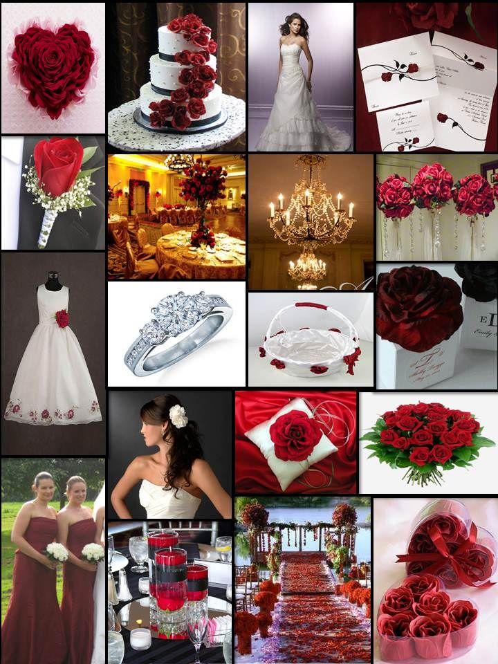 An English Rose Luxury Lifestyle Weddings Red Themed Wedding