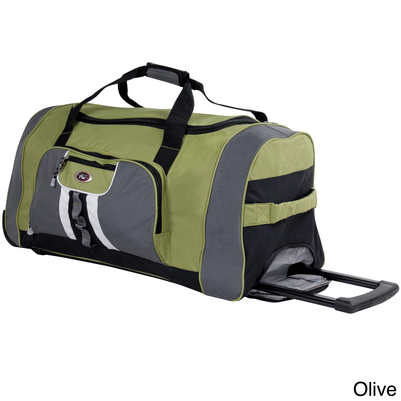CalPak Hollywood 31-inch Rolling Upright Duffel Bag