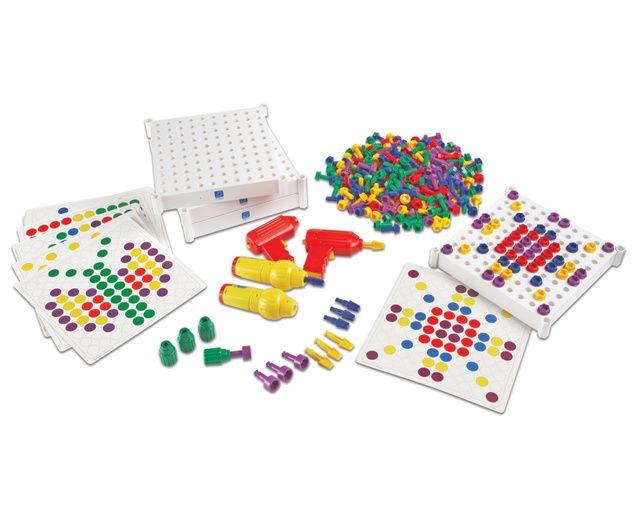 Großes Schraub-Set mit 419 Teilen für mehrere Kinder - prima zur ...