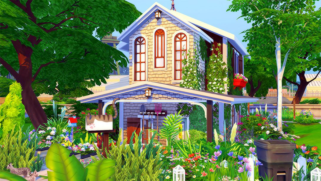Pin by Zhen Wang on Sims 4_Lots | House styles, Home decor ...