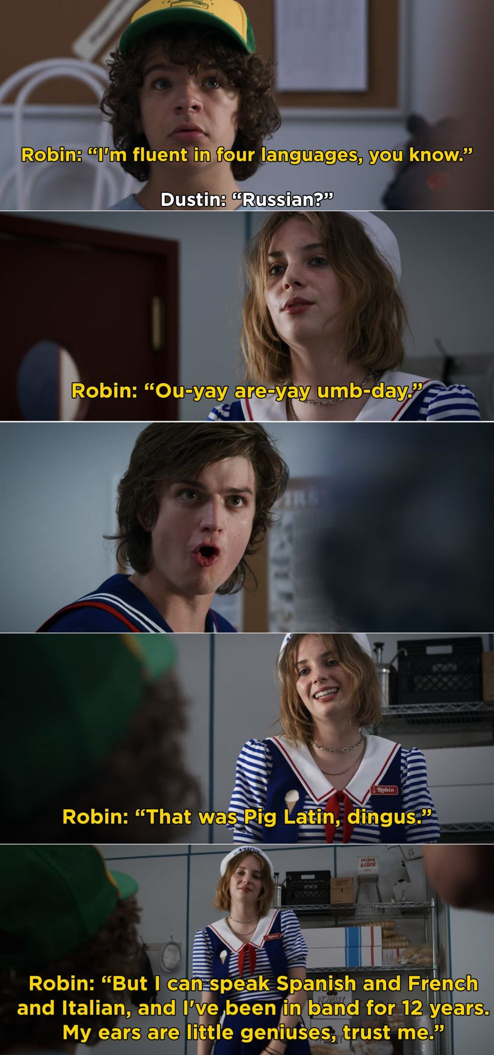 29 Stranger Things Moments That Prove Robin Is One Of The Best New Characters Of 2019