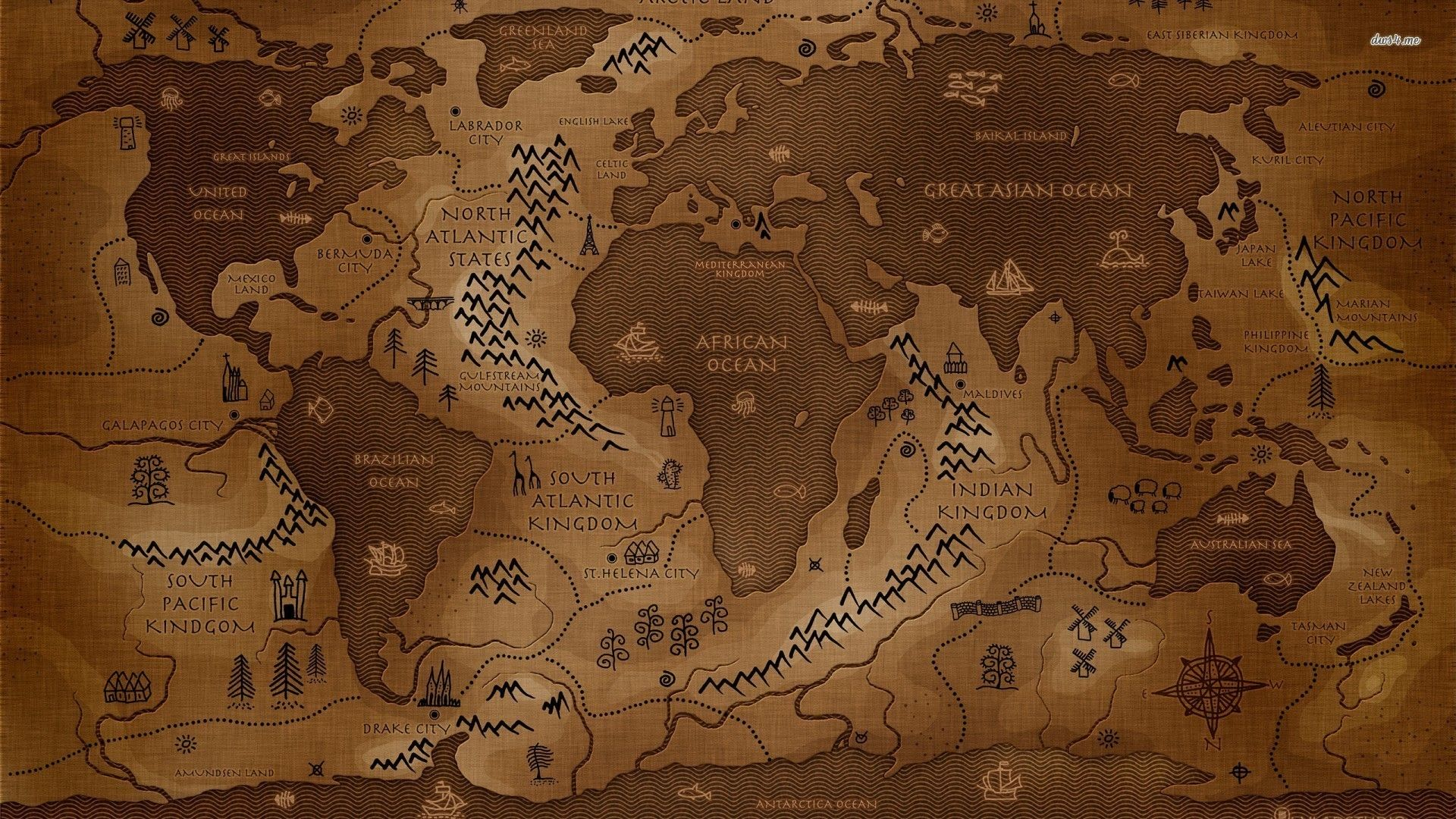 Game of thrones map desktop wallpaper hd