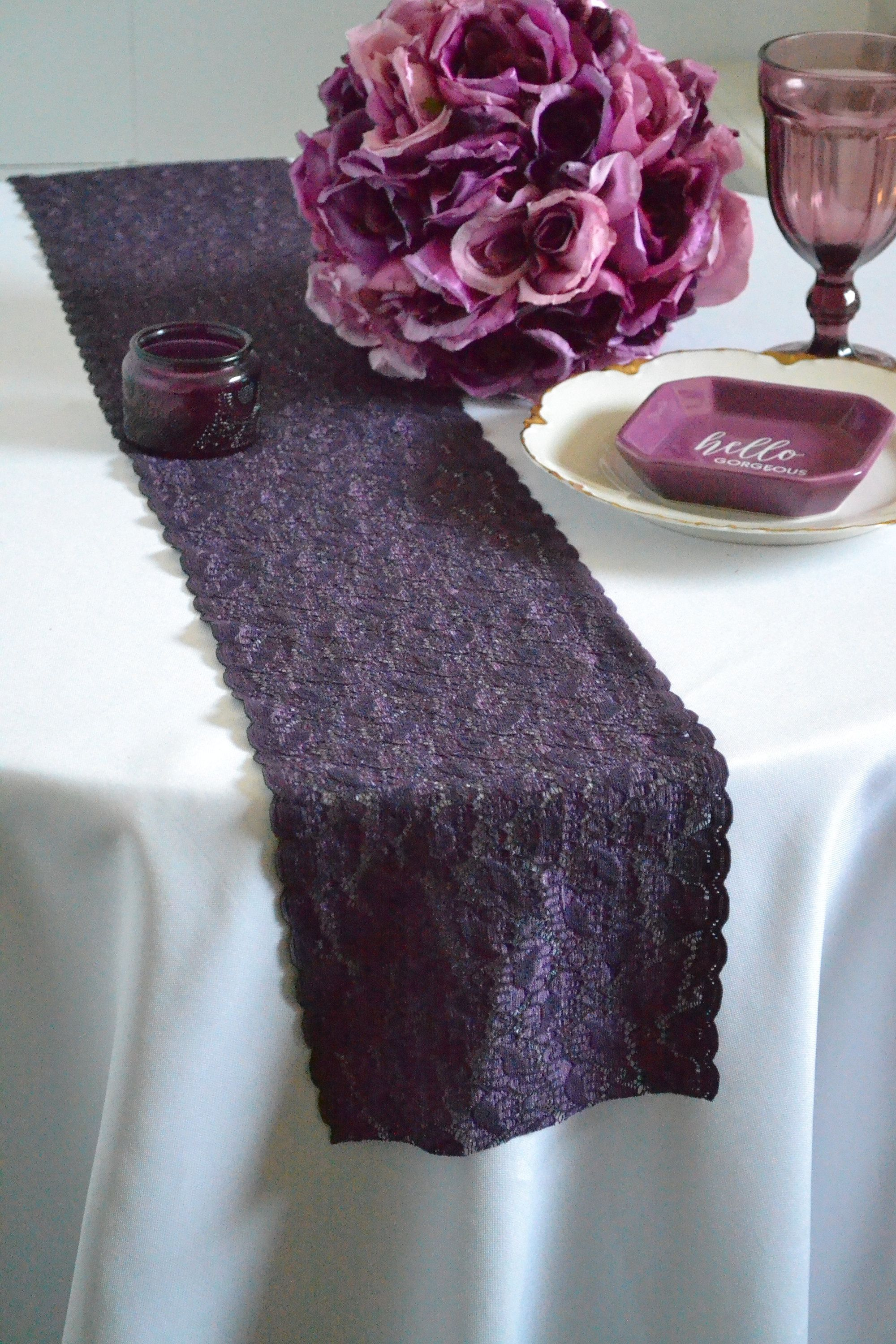 Pin on Wedding reception table runners