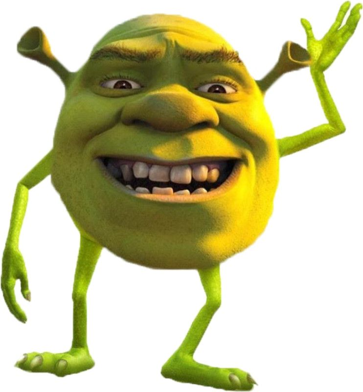 Shrek Mike Wazowski By Unicyclephredd Shrek Memes Shrek