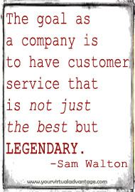 top reasons good customer service  key  virtual advantage signs quotes