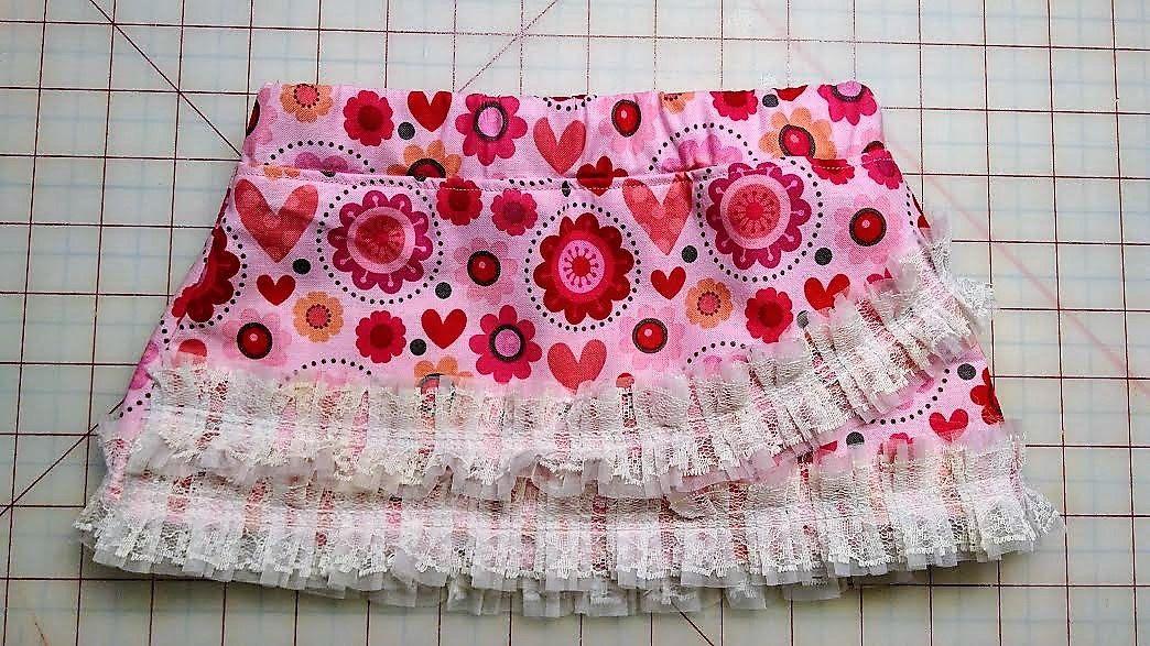 Valentine Skirt by DandyDudsbyRita on Etsy
