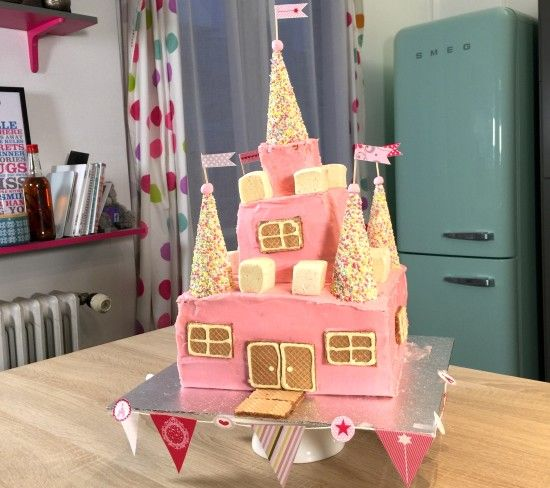 voici ma recette de gâteau château de princesse en vidéo. faites