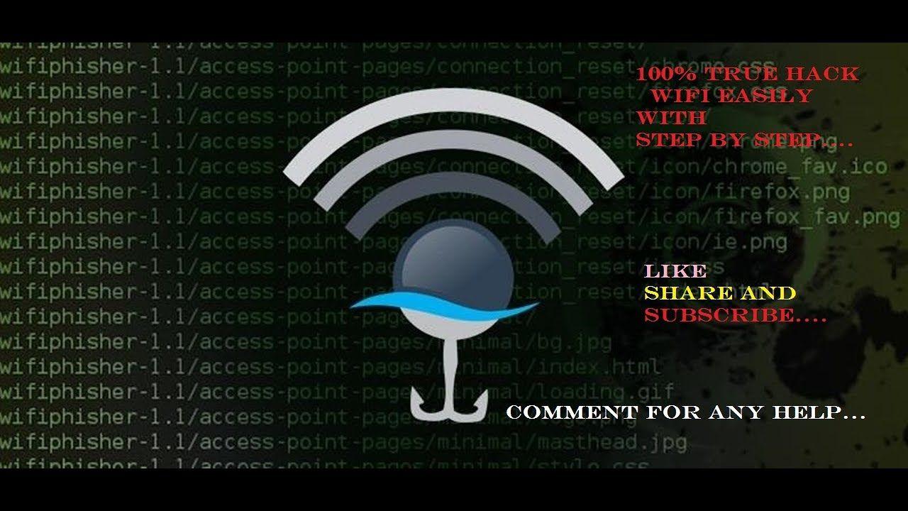 How to hack wifi password step by step 100 true wifi