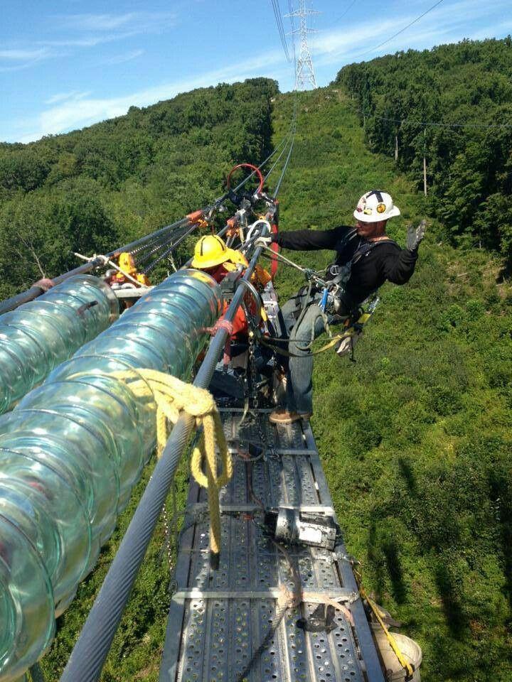 High Voltage Dead End Power Lineman Lineman Dangerous Jobs