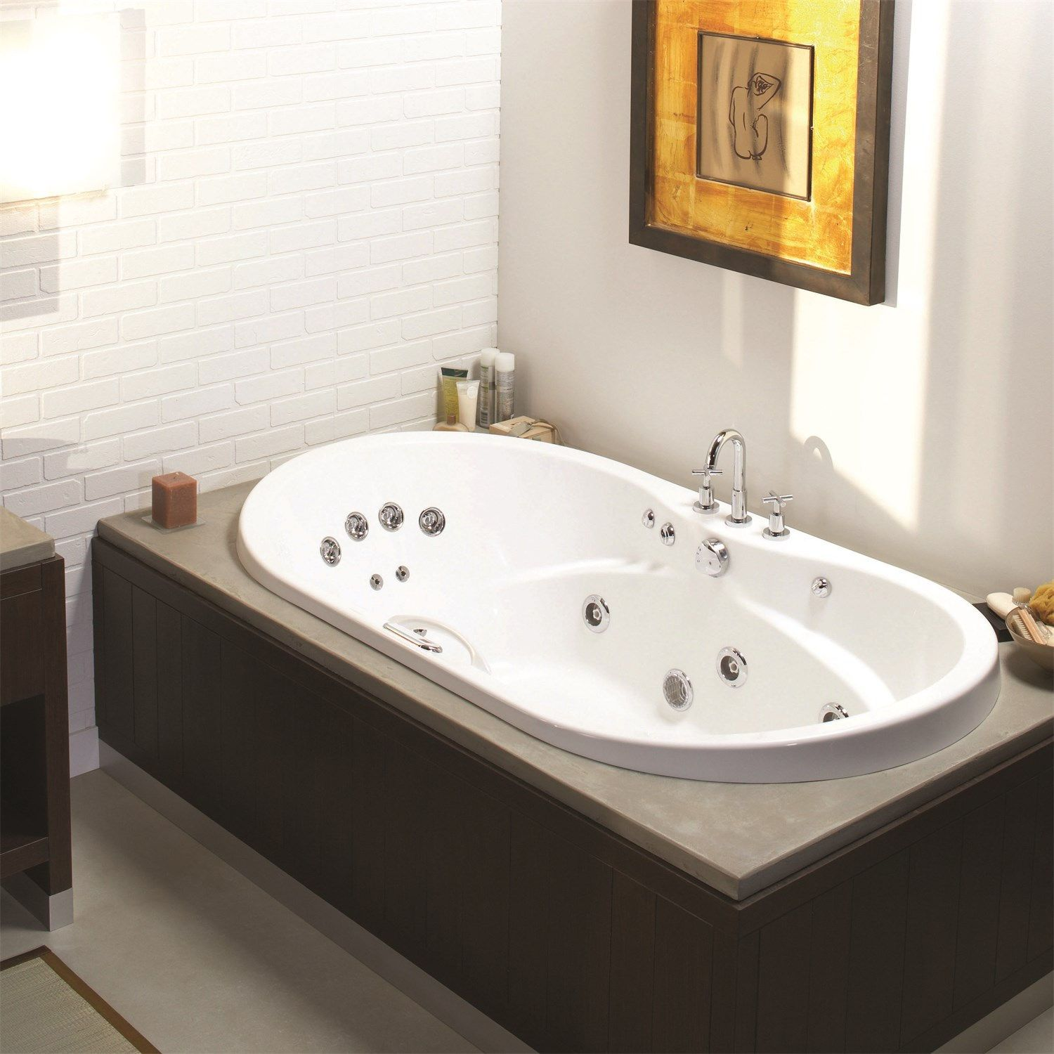 Maax 102759 000 Living 72 X 36 Regular Soaking Tub With Images