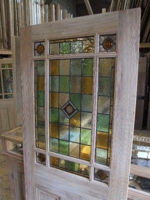 External Downham Stained Glass Door & External Downham Stained Glass Door | Doors \u0026 Windows | Pinterest ...