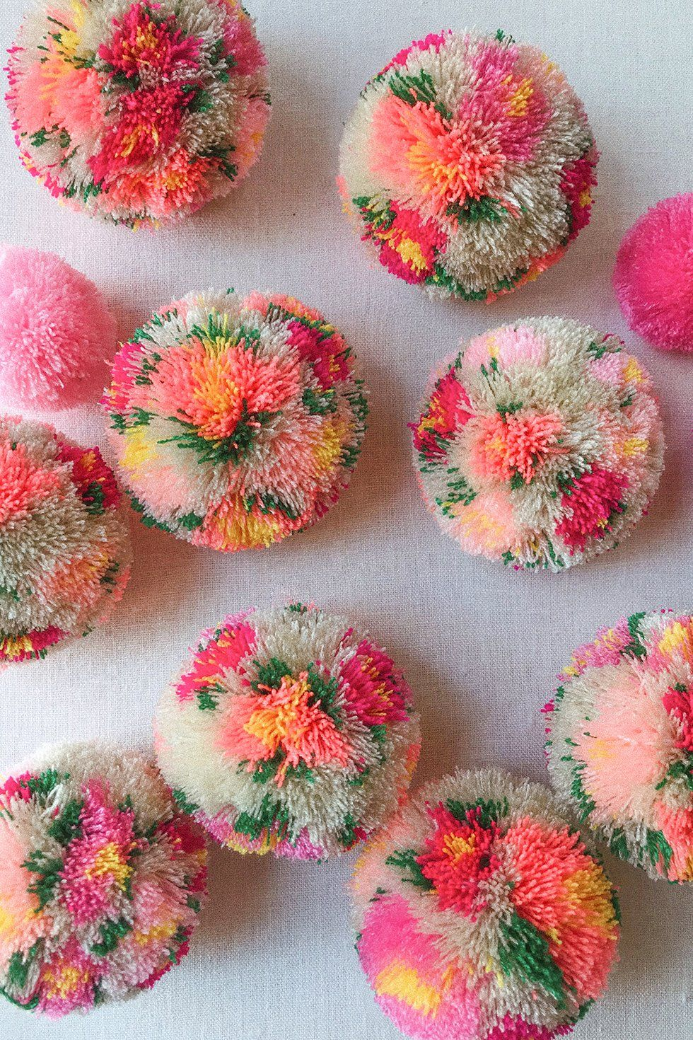 Photo of DIY Floral Pom Poms – Honestly WTF