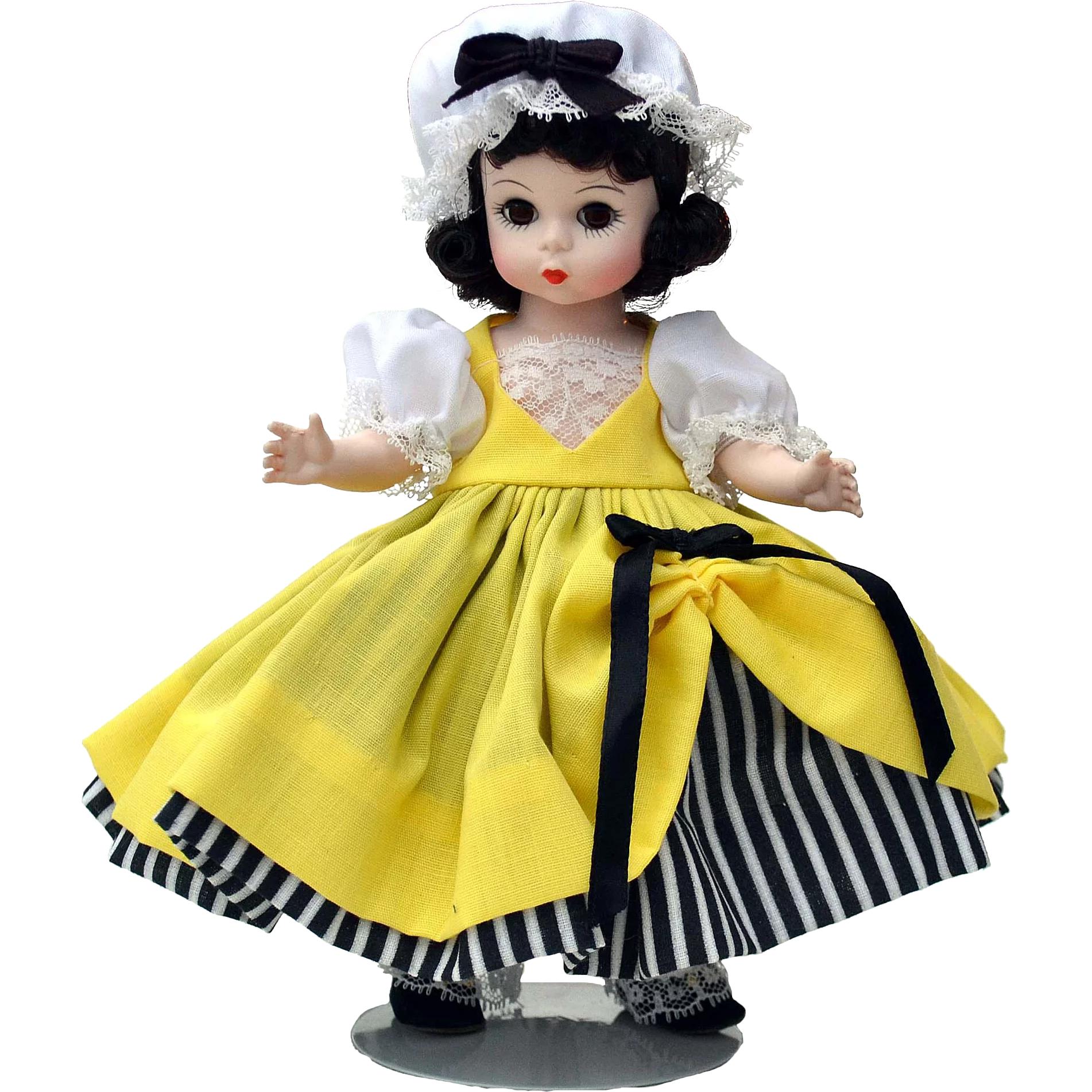 Vintage new in original box madame alexander pussycat doll