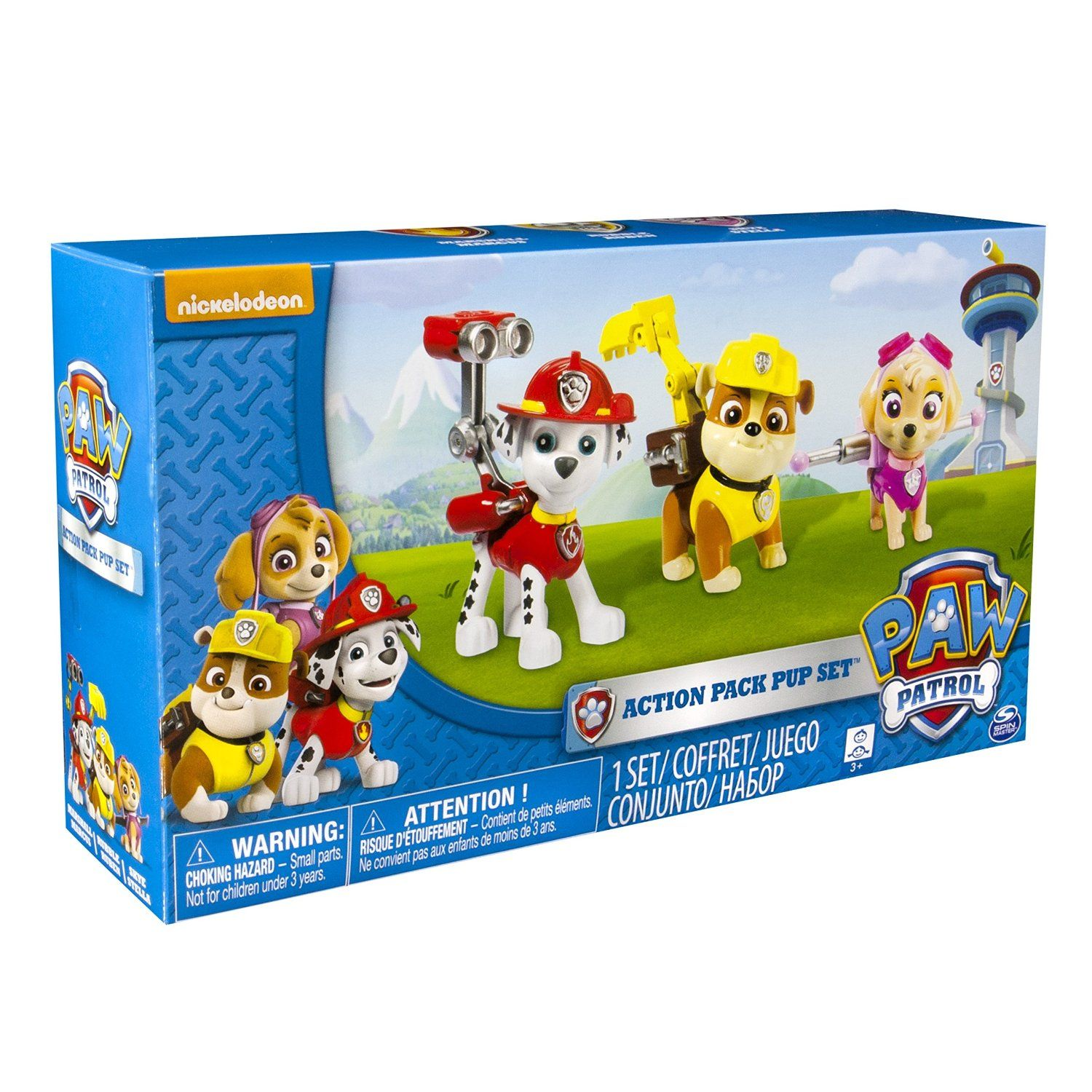 Paw Patrol Toys & Figures by Nickelodeon | Top Toys for Kids