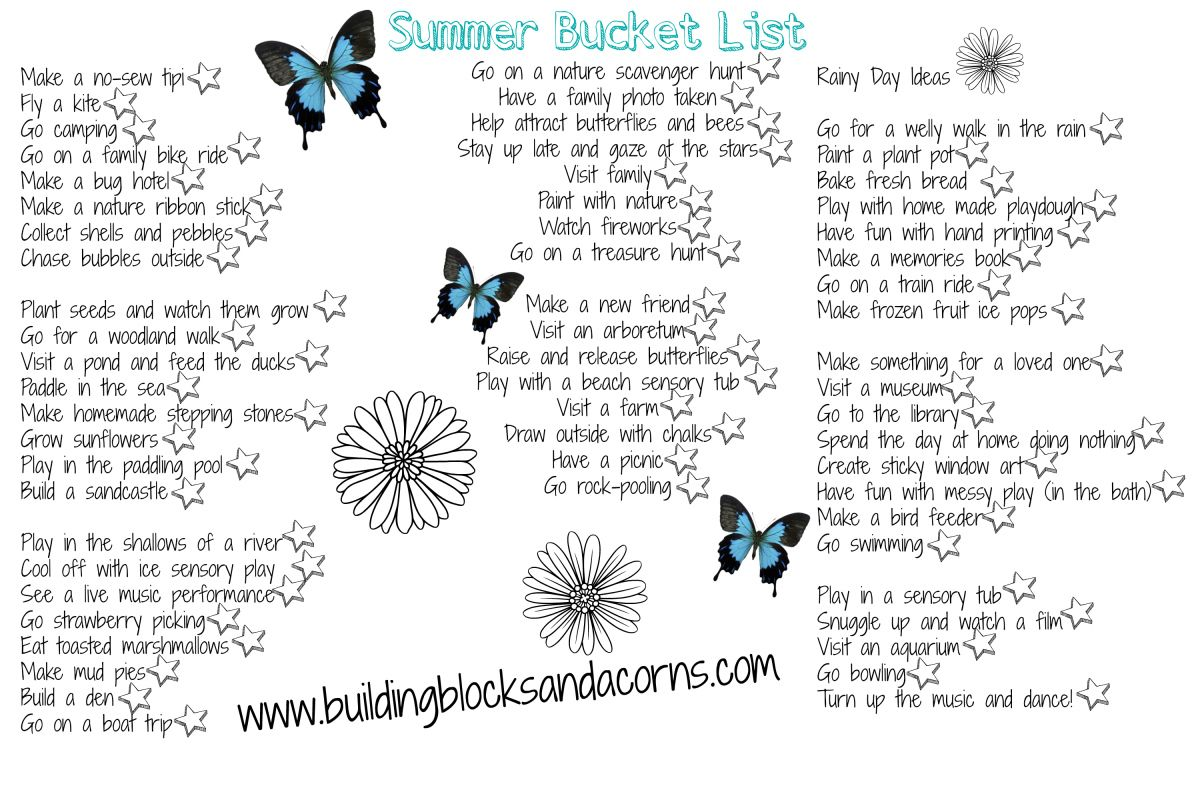 To go with the immense popularity of the DIY Summer Bucket